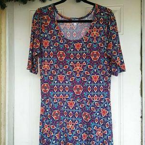 Lularoe Ana Geometric dress